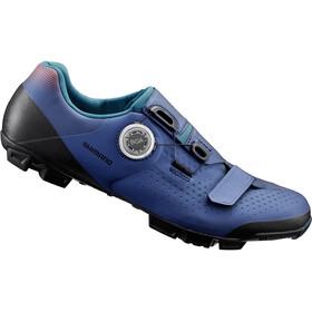 Shimano SH-XC5 Bike Shoes Wide Men, blue
